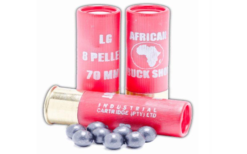 Industrial Cartridge AFRICAN BUCK SHOT SHELLS RIFLED SLUG